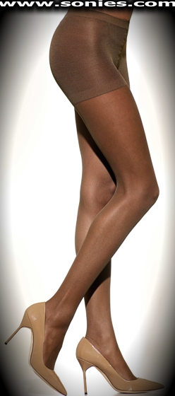 WonderBra Body-Shaper pantyhose with Lycra Leg