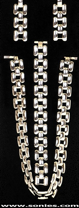 Diopater panther link chains 3-piece set