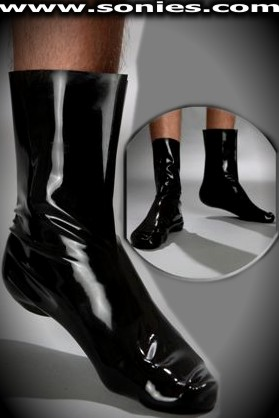 Utterly tempting Polyphemus men's latex socks